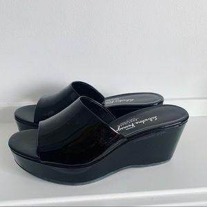 Salvatore Ferragamo Platform Heel Sandals 6.5